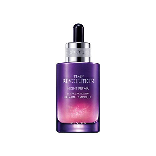 [MISSHA] Time Revolution Night Repair Science Activator Ampoule Serum, 1.7 Ounce(40ml)