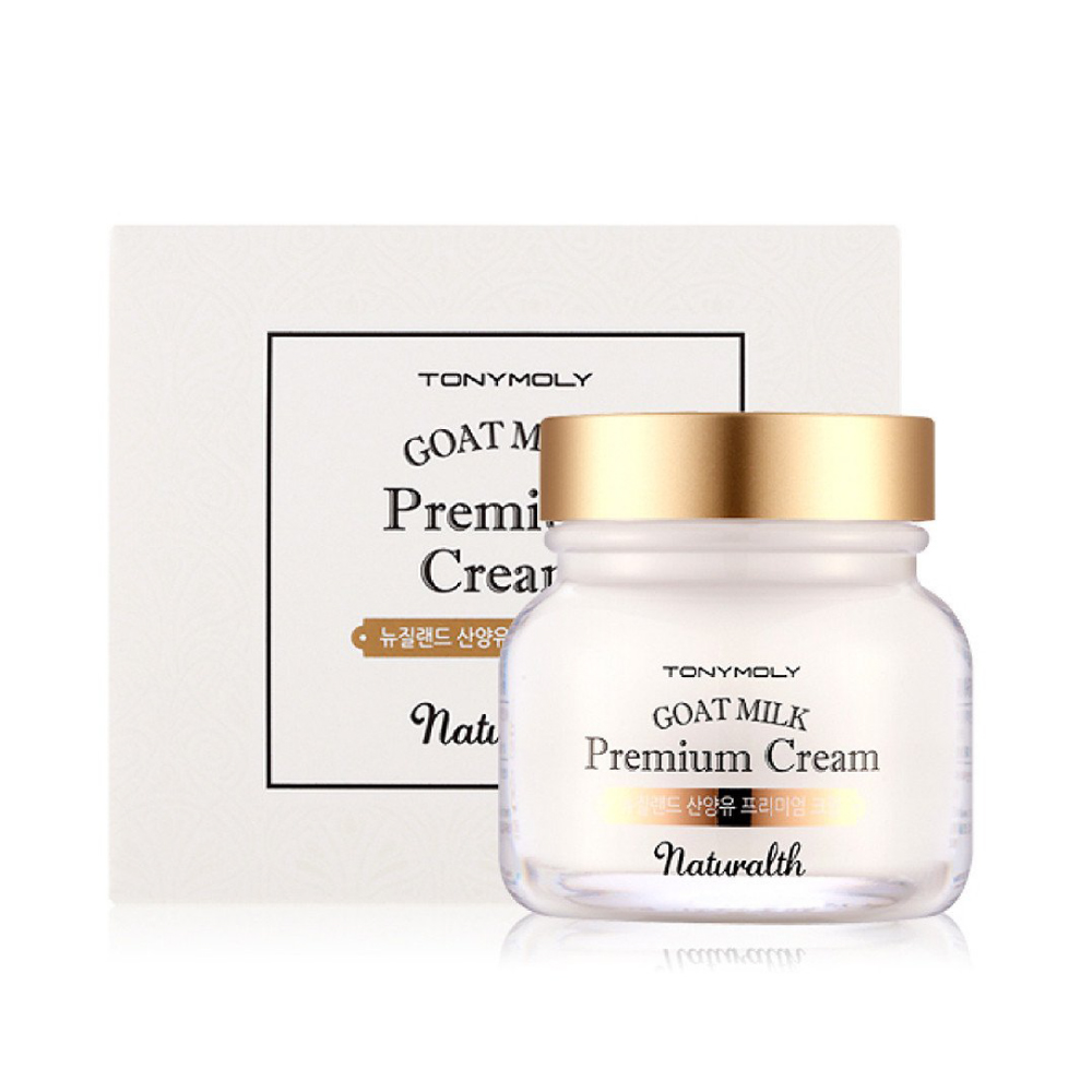 [TONYMOLY] Naturalth Goat Milk Premium Cream 60 ml