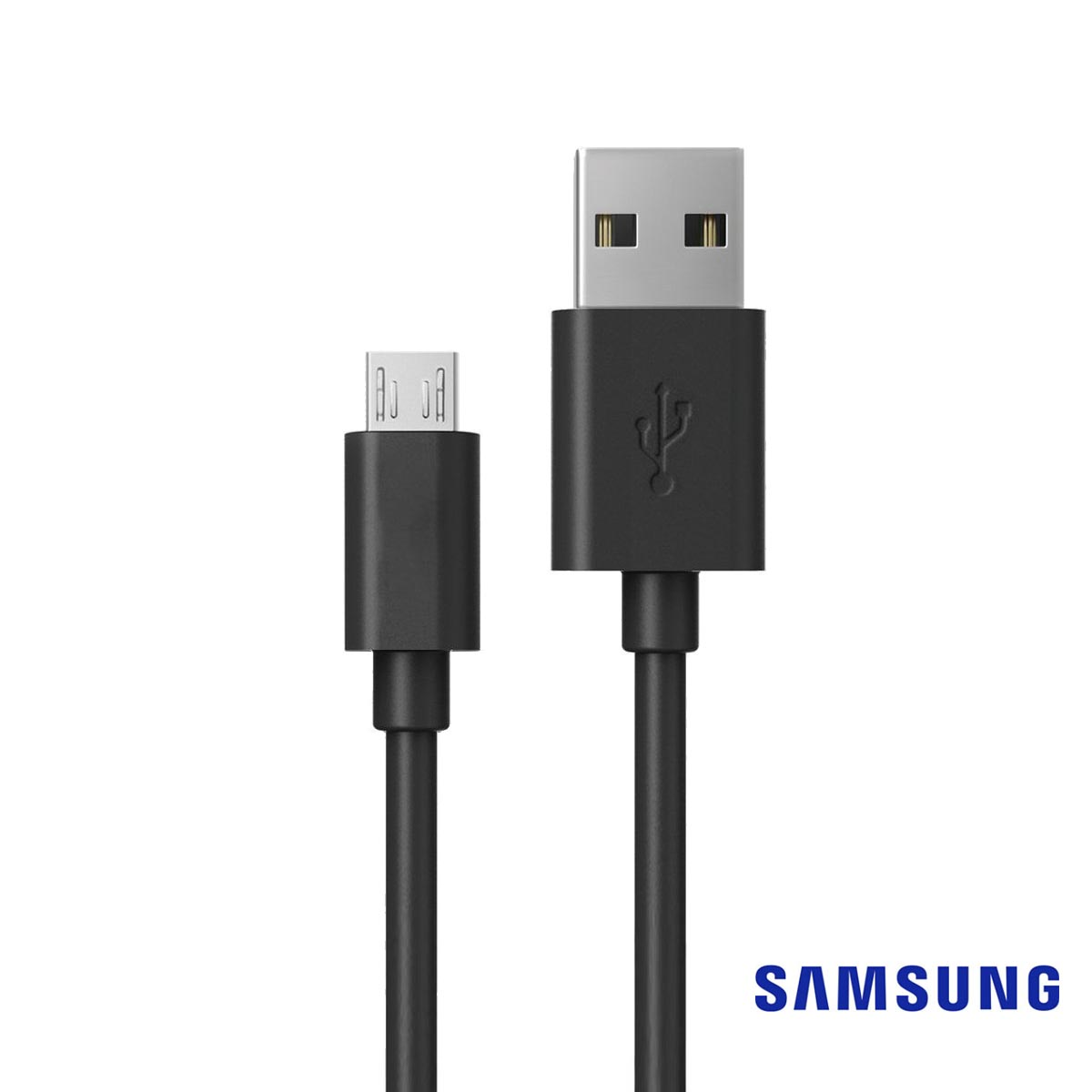 Samsung [5 Feet] Micro USB to USB Charge & Sync Data Cable [Black] [ECB-DU4EBE]