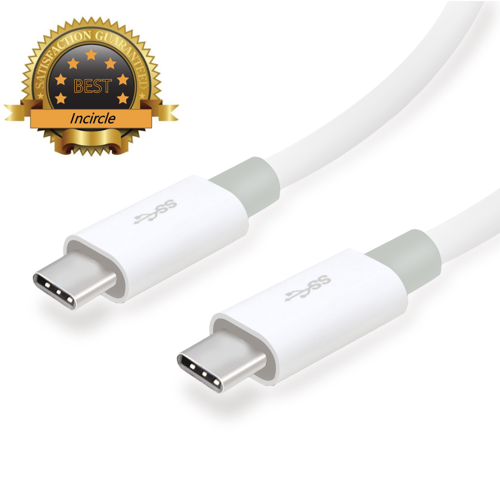 USB Type C Data Cable, Incircle [USB 3.1] 56k pull-up resistor 3.3ft/1m Type C Data Charging Fast (C to C) Cable Supported