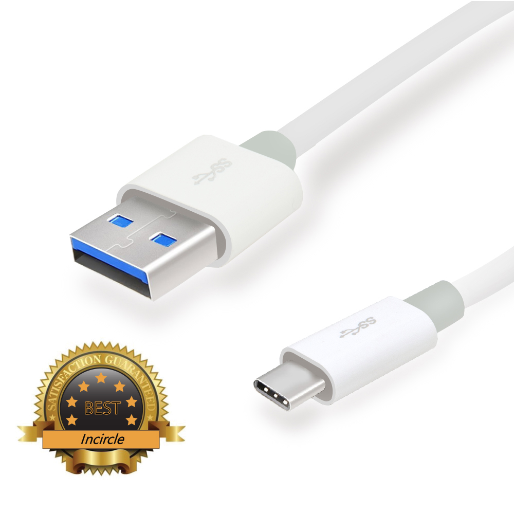 USB Type C Data Cable, Incircle [USB 3.1] 56k pull-up resistor 3.3ft/1m Type C Data Charging Fast (C to A) Cable Supported