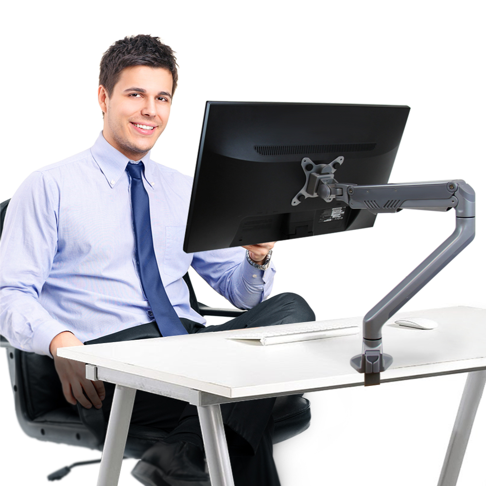 Eutuxia Doublesight Executive Series Single Monitor Arm
