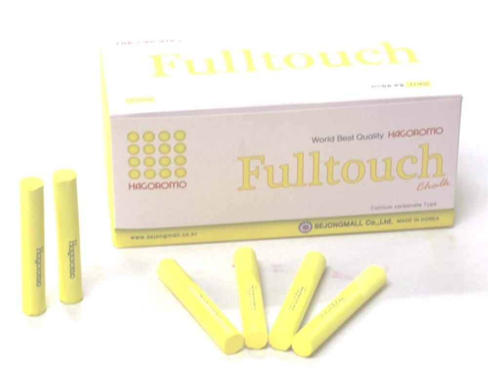 Hagoromo Fulltouch Chalk 1Box (72pcs) Yellow