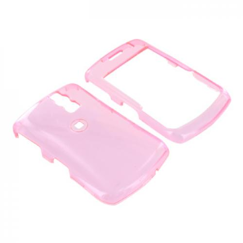 Blackberry Curve 8330, 8320, 8310, 8300 Hard Case - Transparent Pink