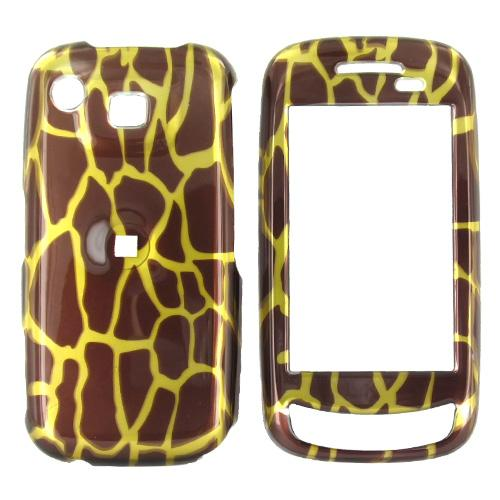 LG Xenon GR500 Hard Case - Brown Giraffe