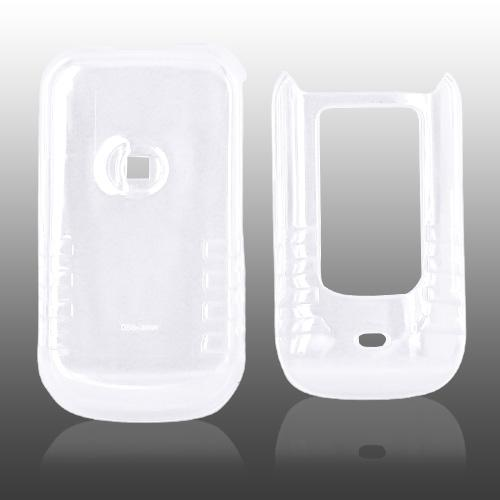 Motorola Brute i680 Hard Case - Transparent Clear