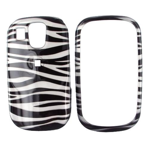 Samsung Flight A797 Plastic Case - Zebra Design