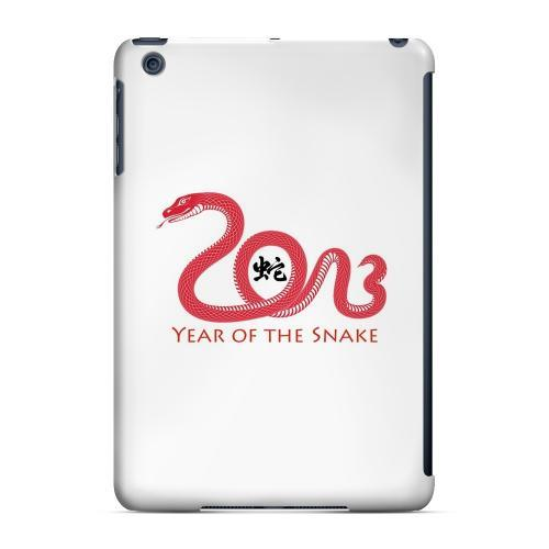 Geeks Designer Line (GDL) Slim Hard Case for Apple iPad Mini - Red Year of the Snake