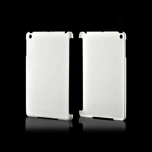 Glossy White Impact Resistant Hard Case for Apple iPad Mini w/ Ultra-Slim Design