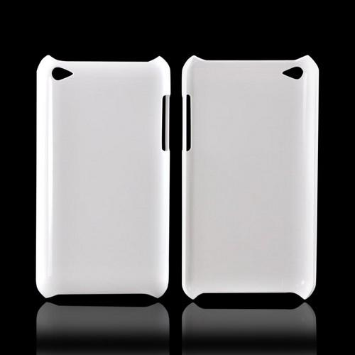 Apple iPod Touch 4 High Gloss UV Coated Slim Hard Back Cover - Solid White