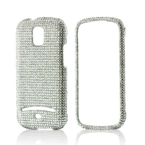 Silver Gems Bling Hard Case for Samsung Galaxy S Relay 4G