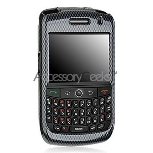 Blackberry Curve 8900 Protective Hard Case - Carbon Fiber