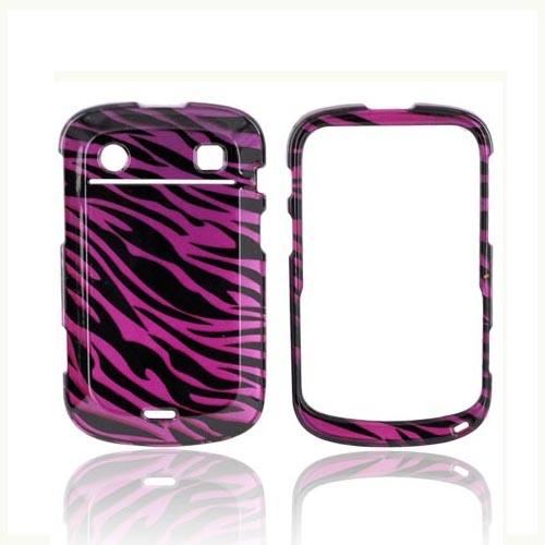 Blackberry Bold 9900 9900, 9930 Hard Case - Purple/ Black Zebra