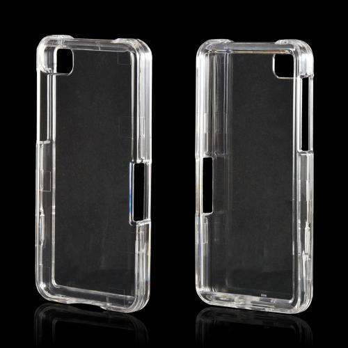 Transparent Clear Hard Case for BlackBerry Z10