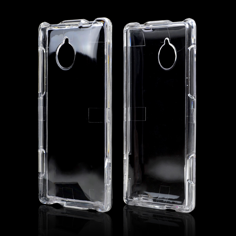 Clear Hard Case for HTC 8XT