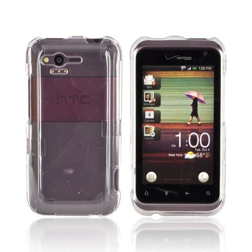 HTC Rhyme Hard Case - Transparent Clear