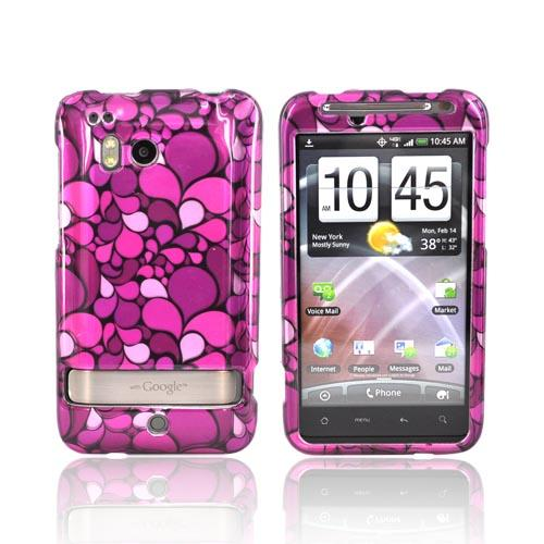 HTC Thunderbolt Hard Case - Pink Pedals