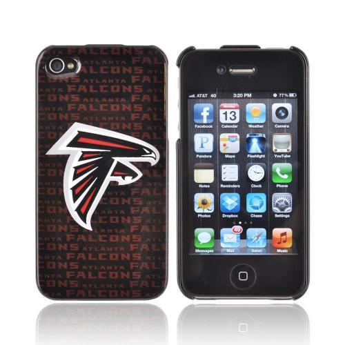 NFL Licensed Apple iPhone 4/4S Hard Case - Atlanta Falcons