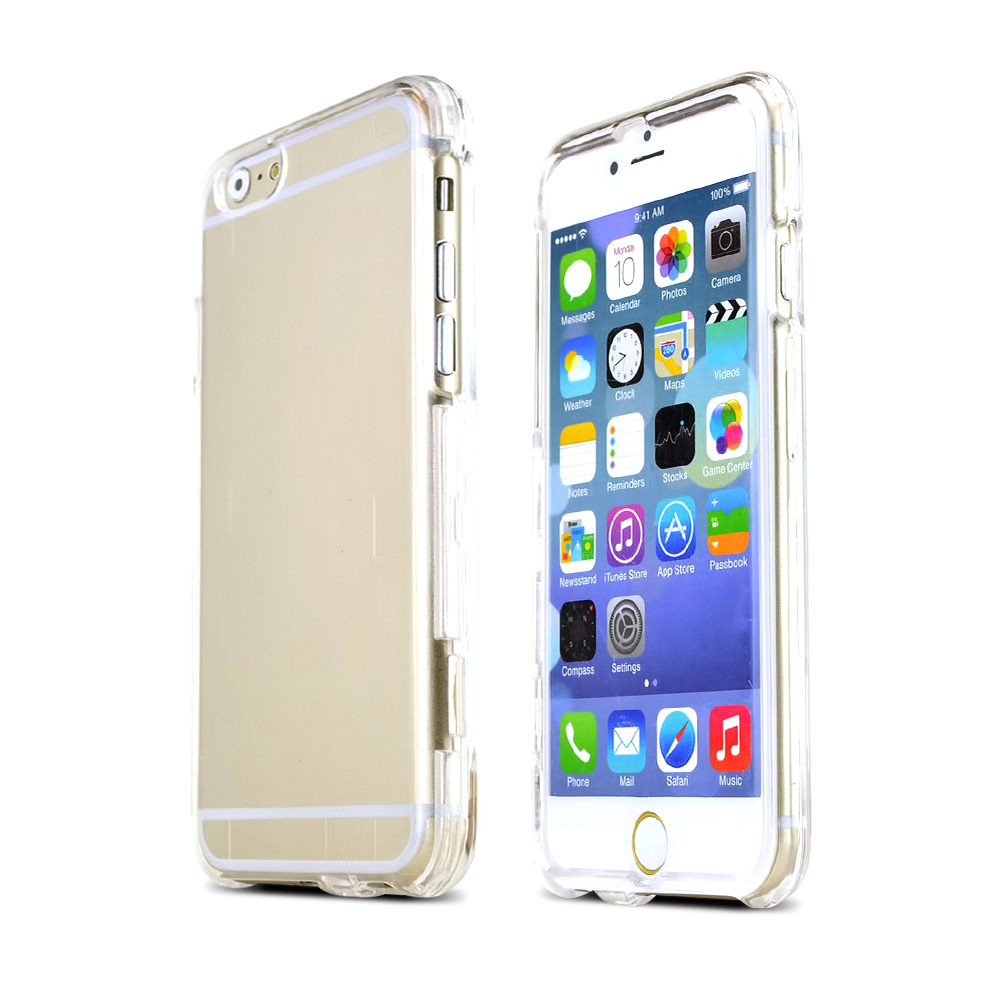 Apple iPhone 6/ 6S Case,  [Clear]  Slim & Protective Crystal Glossy Snap-on Hard Polycarbonate Plastic Case Cover