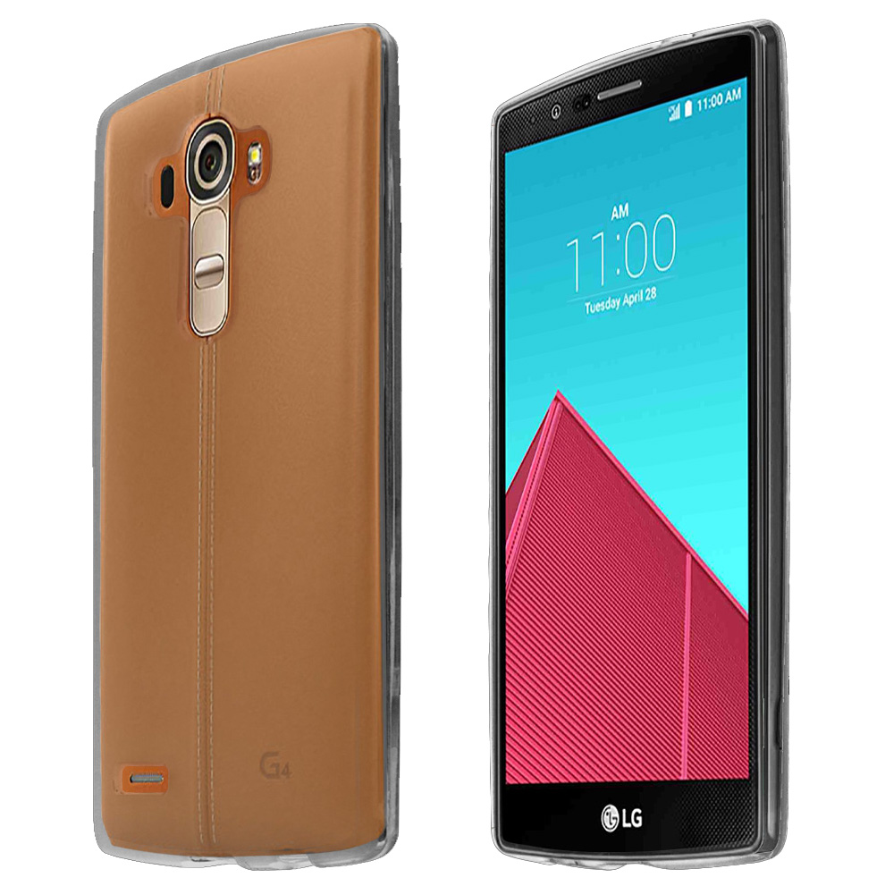 LG G4 Case, [Clear] Crystal Polycarbonate Glossy Hard Plastic Case Cover