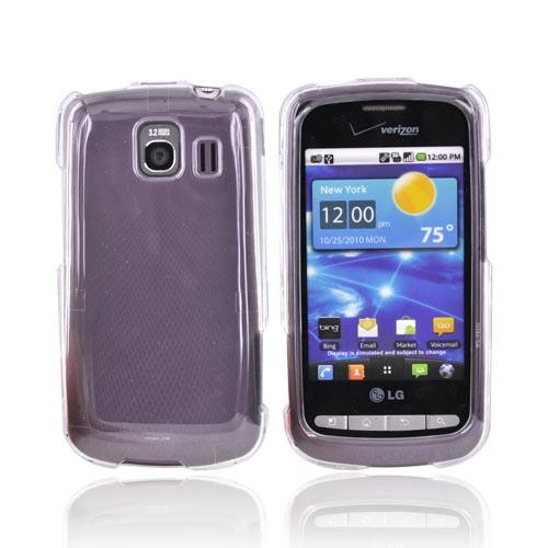 LG Vortex Hard Case - Transparent Clear