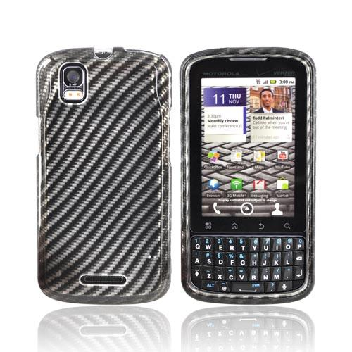 Motorola Droid Pro A957 Hard Case - Carbon Fiber