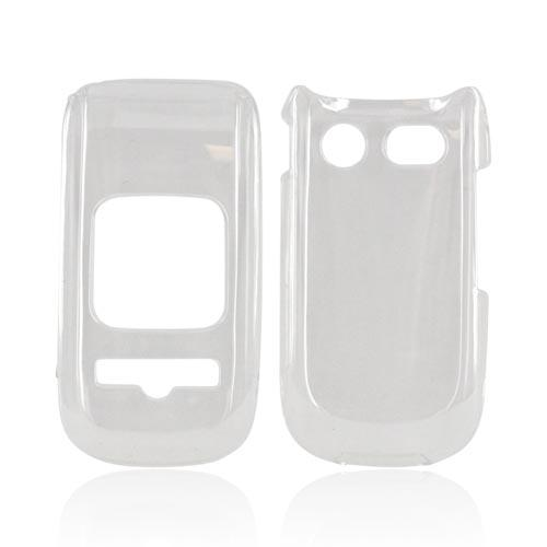 Pantech Breeze 3 Hard Case - Transparent Clear