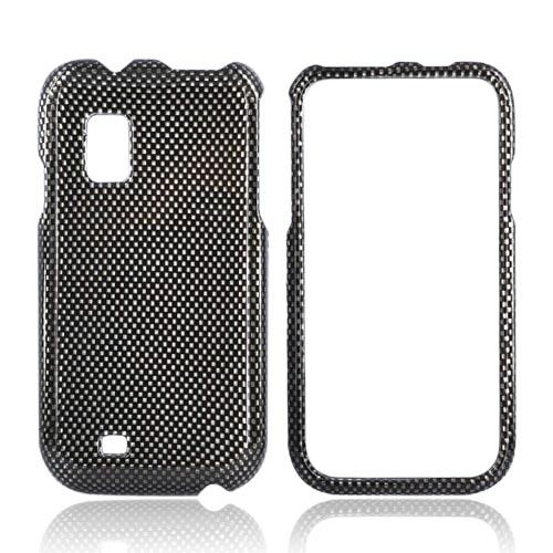 Samsung Fascinate i500 Hard Case - Carbon Fiber Design