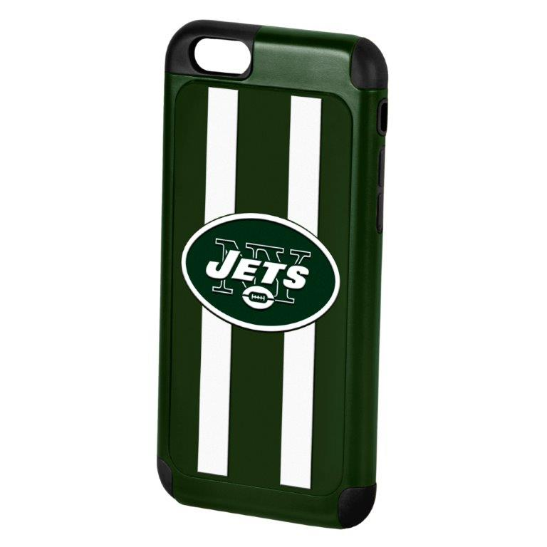 Made for Apple iPhone 6/6S (4.7 inch) NFL Case, Slim Dual layer Hybrid Hard Case on TPU Case [New York Jets] by NFL