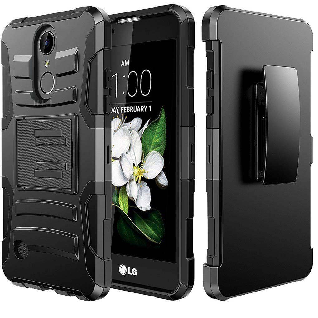 ec1e1d54ed LG Aristo/ Fortune Case, REDshield Supreme Protection Hard Plastic on  Silicone Skin Dual Layer