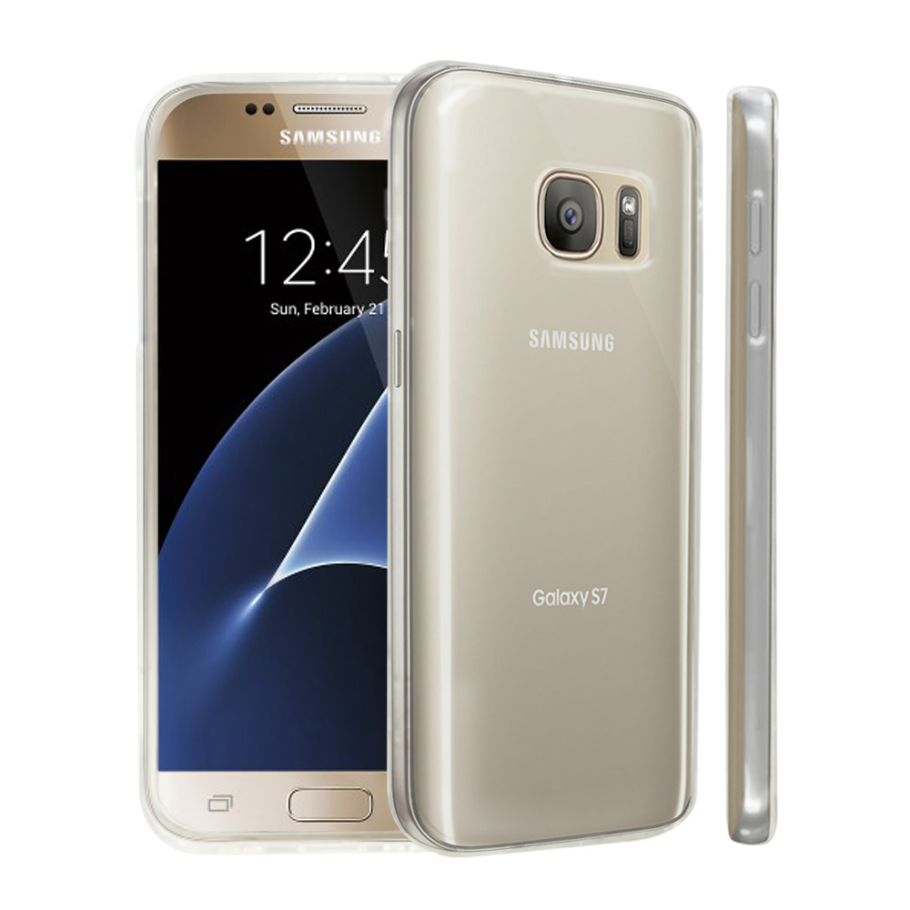 Samsung Galaxy S7 Case, [REDshield] Crystal Back Bumper Case [Drop Protection][Clear] Flexible Border Case