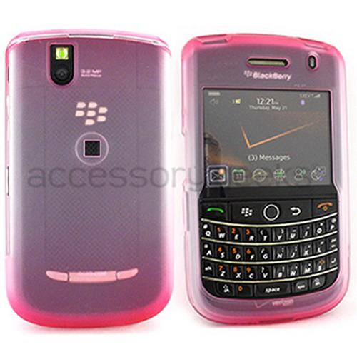 Blackberry Bold 9650 & Tour 9630 Icy Hard Case - Red