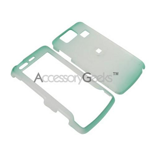 LG Versa Icy Hard Case - Green/Clear