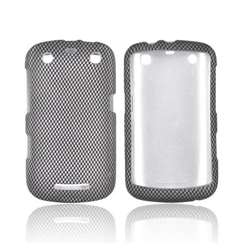 Blackberry Curve 9360 Rubberized Hard Case - Carbon Fiber