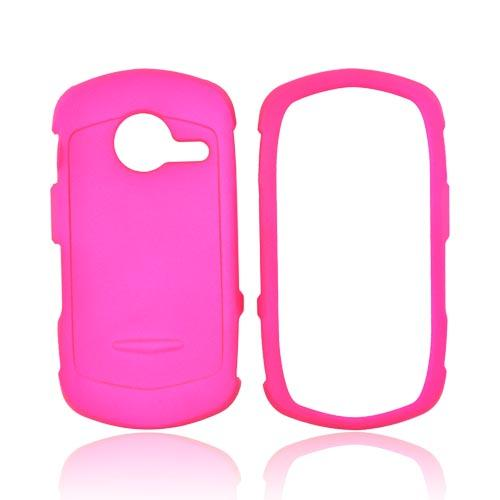 Casio G'zOne Commando C771 Rubberized Hard Case - Hot Pink