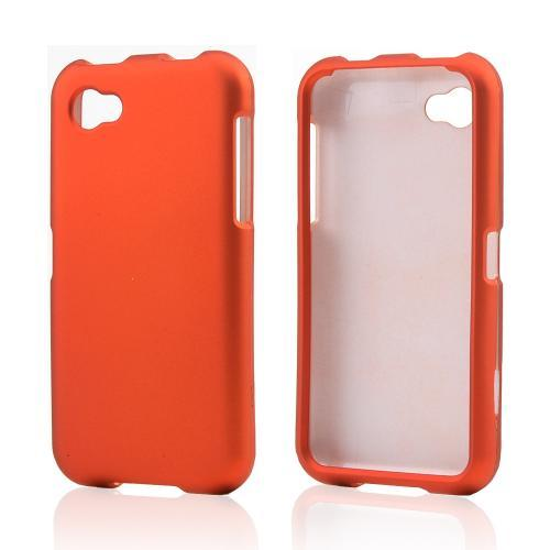 Orange Rubberized Hard Case for HTC First