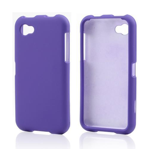 Purple Rubberized Hard Case for HTC First