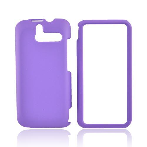 HTC Arrive Rubberized Hard Case - Purple