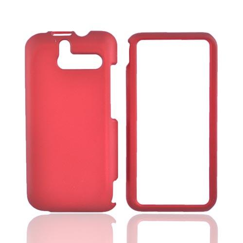 HTC Arrive Rubberized Hard Case - Red