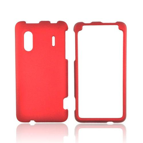HTC EVO Design 4G Rubberized Hard Case - Red