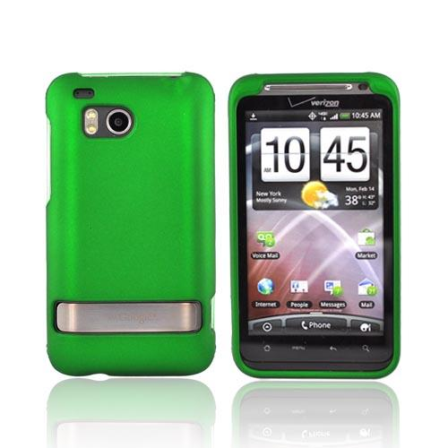 HTC Thunderbolt Rubberized Hard Case - Green