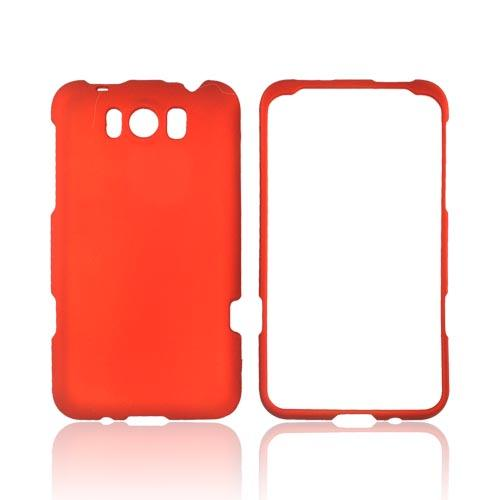 HTC Titan Rubberized Hard Case - Orange