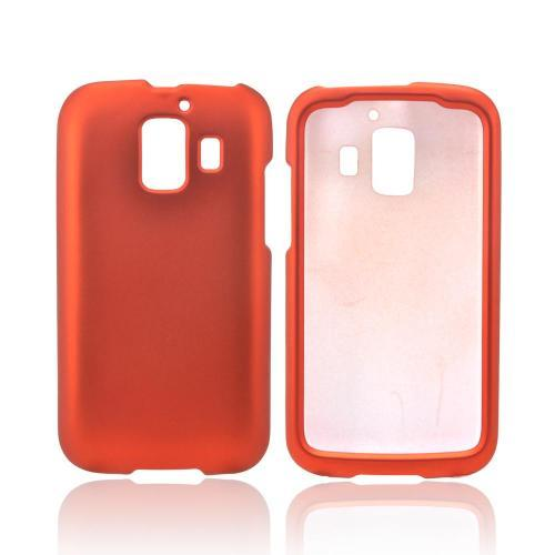 AT&T Fusion 2 U8665 Rubberized Hard Case - Orange