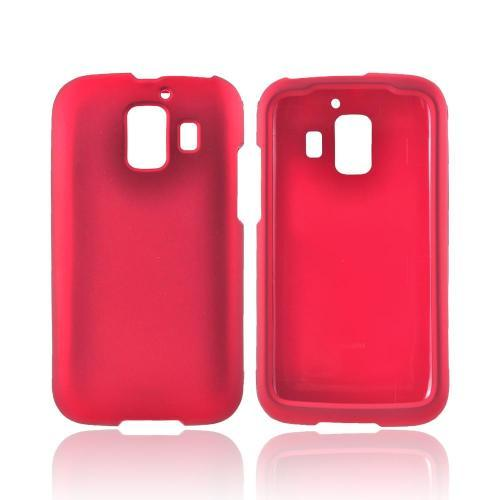 AT&T Huawei Fusion 2 U8665 Rubberized Hard Case - Red