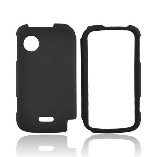 Huawei M735 Rubberized Hard Case - Black