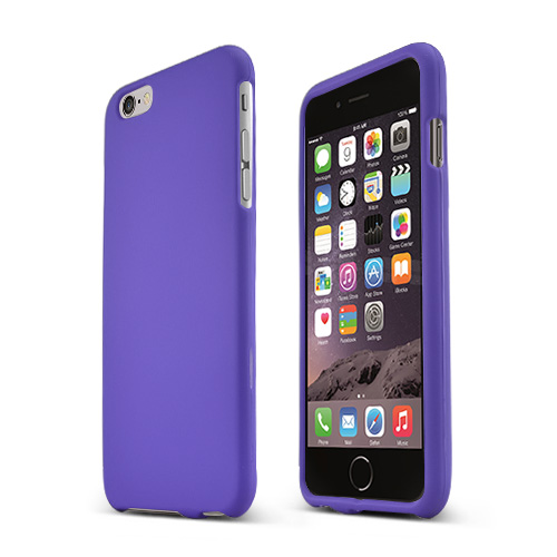 Made for Apple iPhone 6 PLUS/6S PLUS (5.5 inch) Hard Case,  [Purple]  Slim Protective Rubberized Matte Finish Snap-on Hard Polycarbonate Plastic Case Cover by Redshield