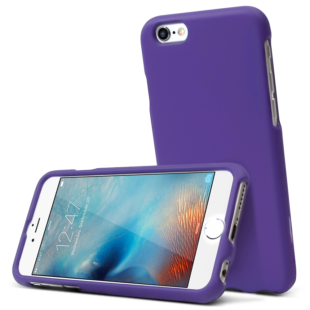 Made for Apple iPhone 6/ 6S Case, [Purple] Slim Protective Rubberized Matte Finish Snap-on Hard Polycarbonate Plastic Case Cover by Redshield