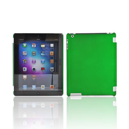 Made for Apple New iPad (3rd Gen.) Rubberized Hard Case - Green (Works with Smart Cover!) by Redshield