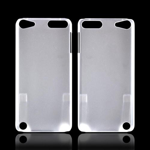 Apple iPod Touch 5 Rubberized Hard Case - Frost White