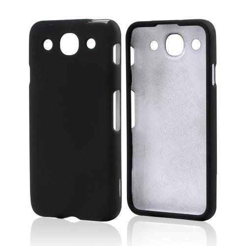 Black Rubberized Hard Case for LG Optimus G Pro